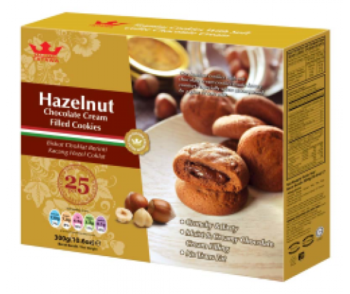 Bánh Family Pack Hazelnut 300gr